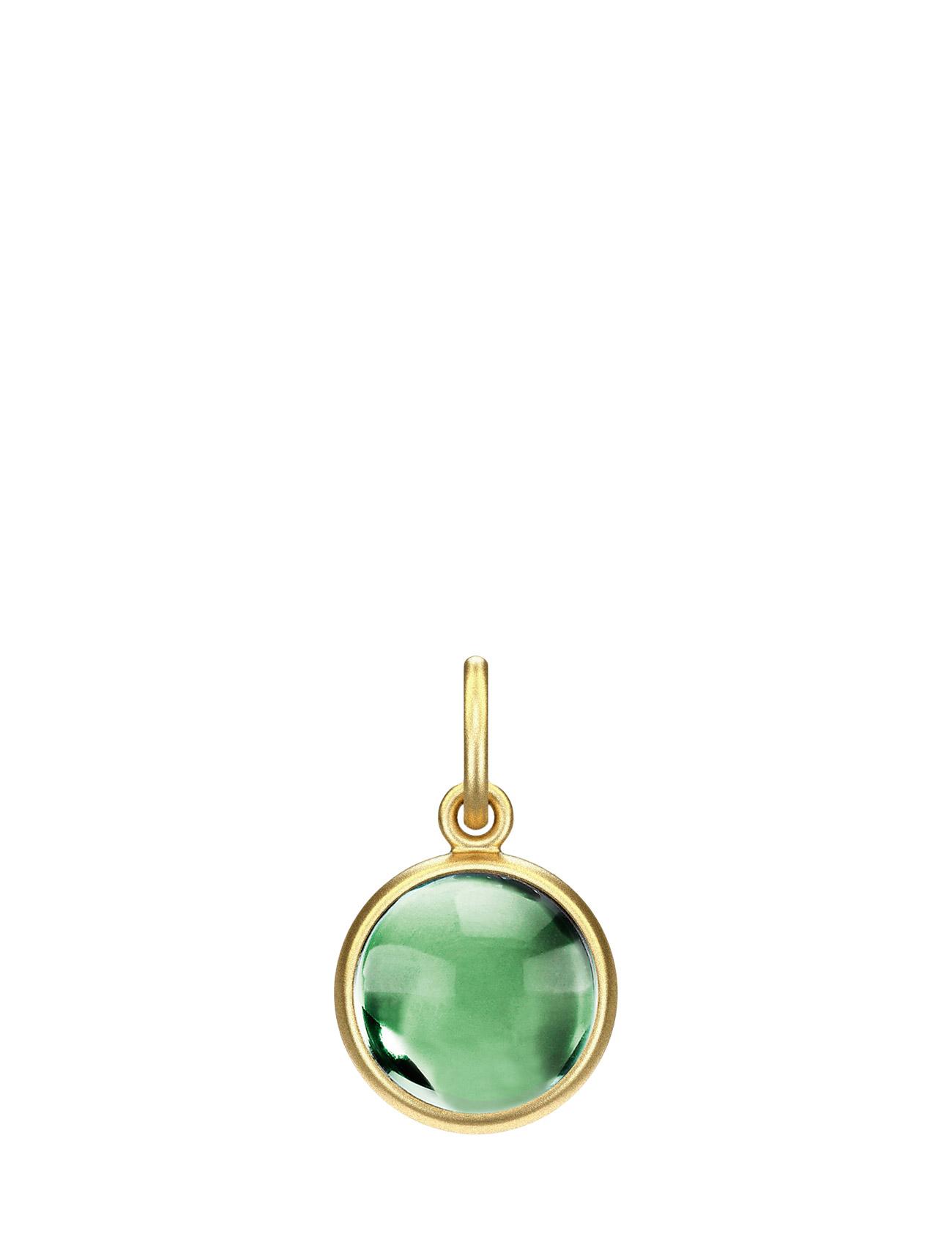 Prime Pendant - Gold Julie Sandlau Accessories til Kvinder i Grøn