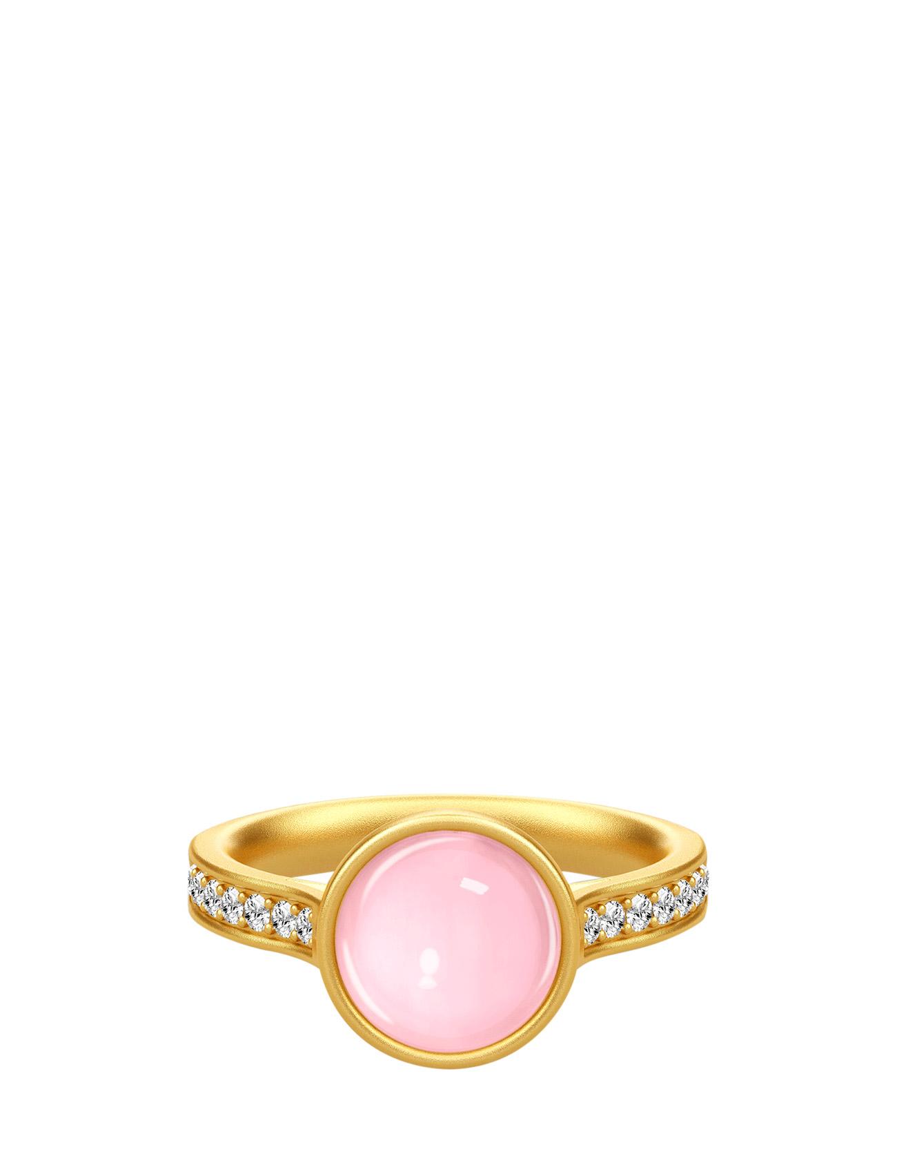 Aurora Ring 52 - Gold/Blue Julie Sandlau Smykker til Damer i