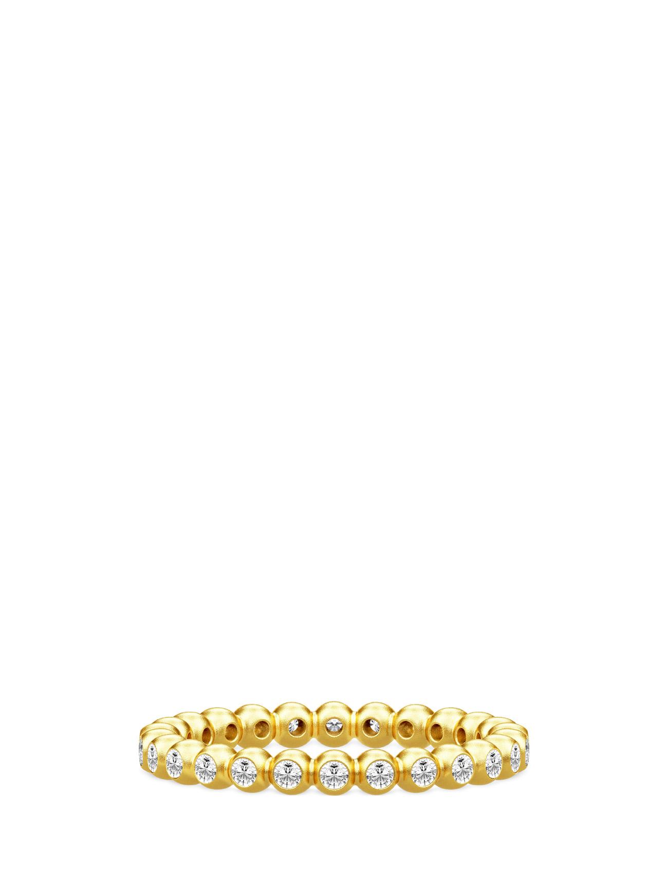 Gracious Ring Julie Sandlau Accessories til Kvinder i Guld