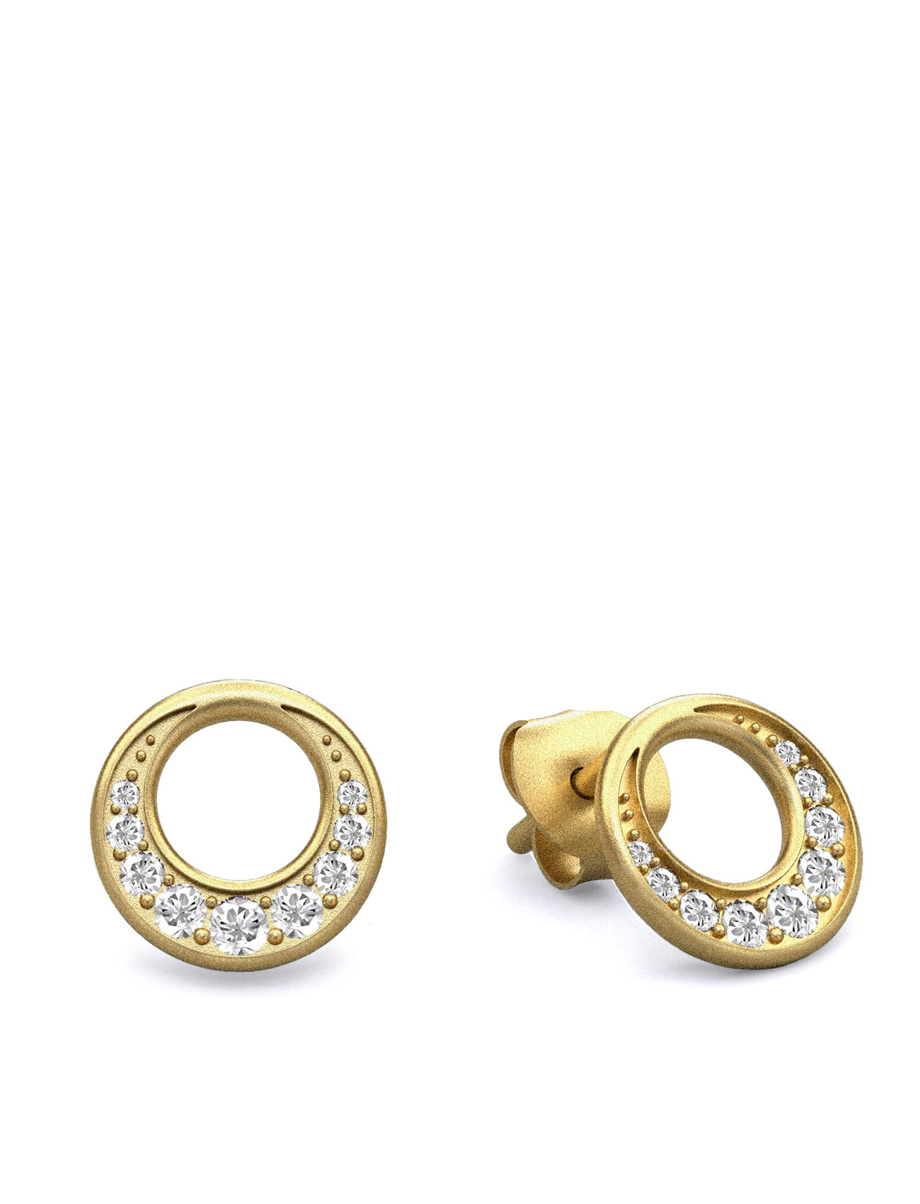 New Moon Earring - Gold