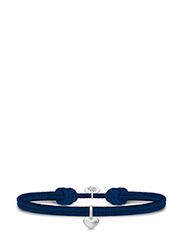 Love Satin Bracelet - NAVY