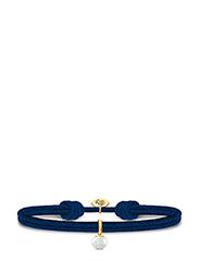 Perla Satin Bracelet - NAVY