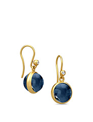 Prime earring - Gold - BLUE