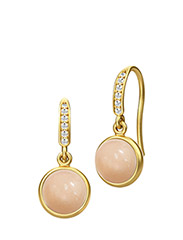 Luna earring - Gold - PEACH