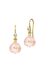 Joy Earring - Gold - PINK