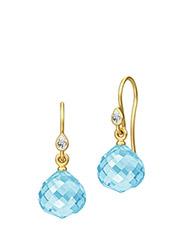Joy Earring - Gold - SKY BLUE