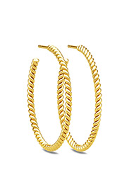 Twisted Hoop - GOLD