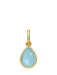 Aurora Pendant - Gold/Blue - BLUE