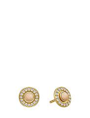 Moon goddess earring - Gold - PEACH