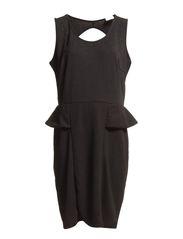 WORK SL ABOVE KNEE DRESS - S - Black