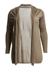 JOY LS LONG CARDIGAN - S - Moon Rock