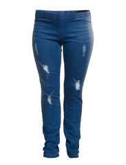 JUMP DENIM LEGGINGS NEW - K - Light Blue Denim