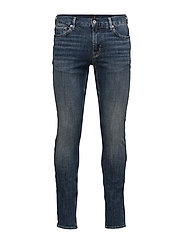 Dark wash skinny jeans - DARK WASH