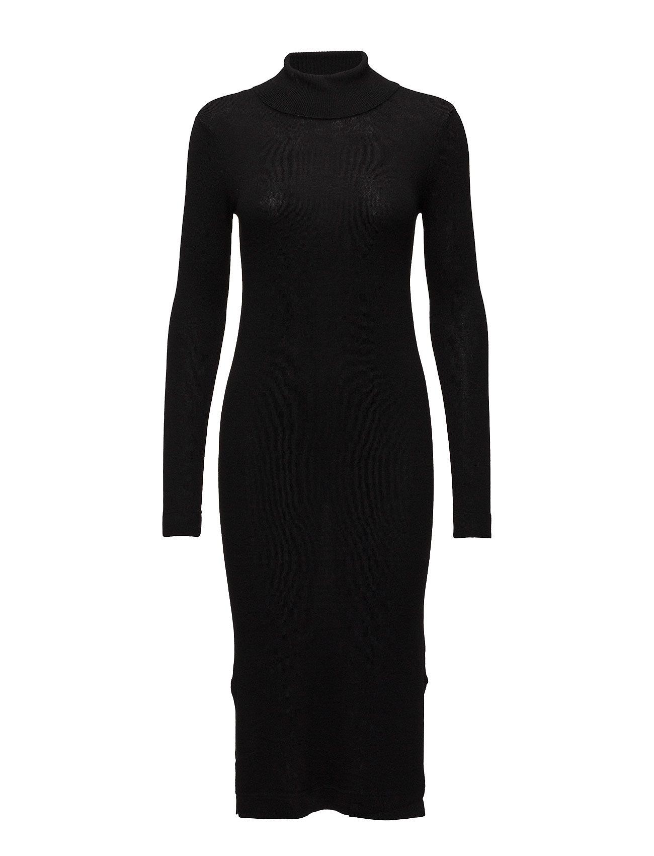 Eri Knit Dress Just Female Striktøj til Damer i Sort