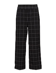 Shari pants - BLACK WHITE CHECK