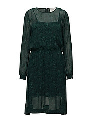 Kaya dress - JUNGLE LEO AOP