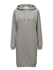 Yoka sweat dress - LIGHT GREY MELANGE