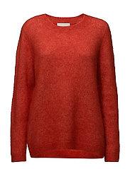 Chiba knit - Aurora red