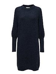 Chiba knit dress - DEEP BLUE