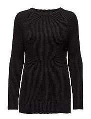 Star knit - BLACK
