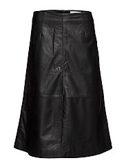 Angie slit skirt - BLACK