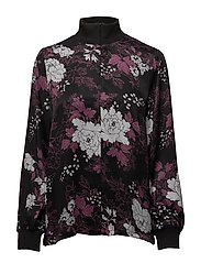 Arche blouse - DEEP FOREST AOP