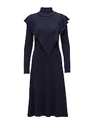 Kale dress - ECLIPSE BLUE