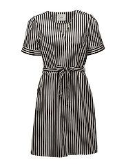 Bodil dress - Black stripe