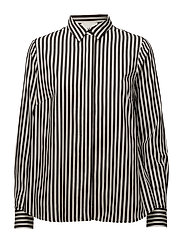 Bodil shirt - Black stripe