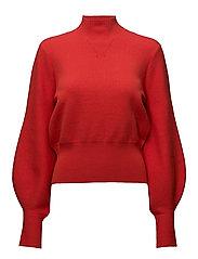 Alma knit - Aurora red
