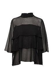 Aika ss blouse - Black