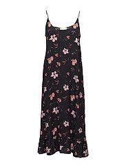 Olivia slip dress - Roses aop