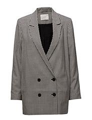 Amalie blazer - Houndstooth pattern