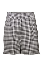 Amalie shorts - Houndstooth pattern