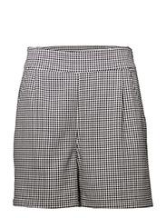 Amalie shorts - Houndstooth pattern