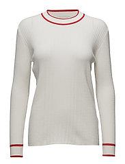 Ebba knit - Bright white
