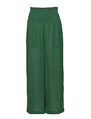 Renata trousers - DOTTLE GREEN AOP