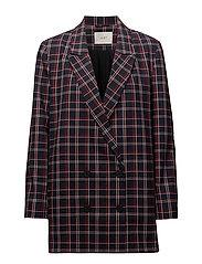 Holmes check blazer - NAVY CHECK