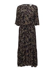 Naila maxi dress - CAMOUFLAGE