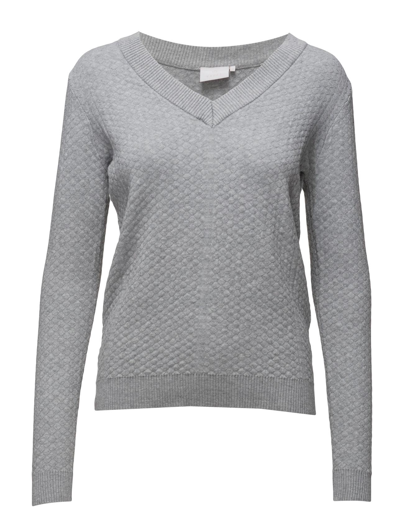 Stella Pullover Kaffe Sweatshirts til Damer i Grey Melange