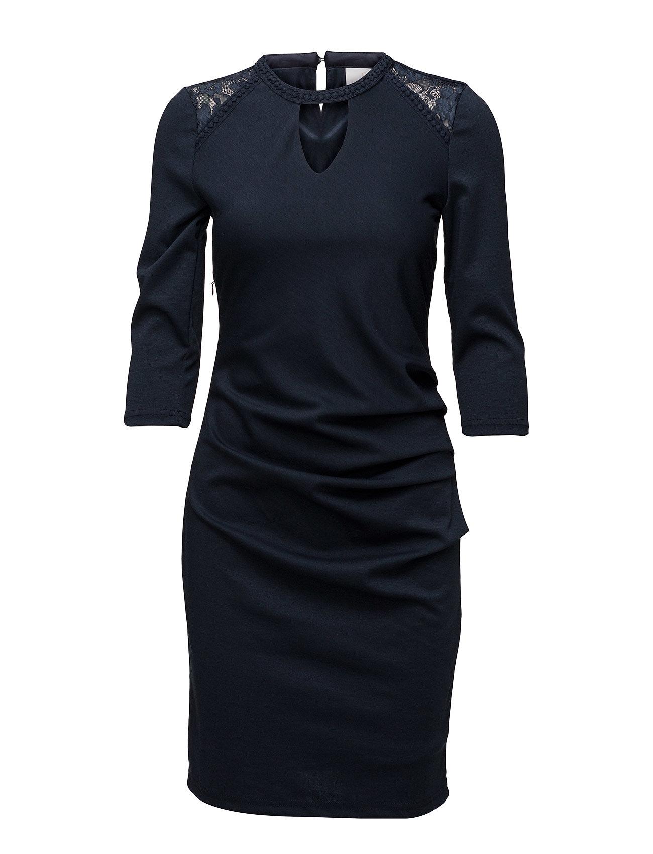 Milly India Dress Kaffe Korte kjoler til Damer i Midnight Marine