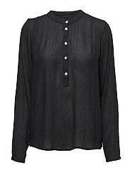 Karla Amber shirt ls- MIN 2 - BLACK DEEP