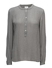 Karla Amber shirt ls- MIN 2 - SMOKED PEARL