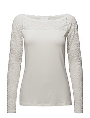 Lacy Boat t-shirt - CHALK