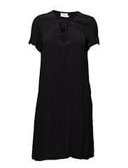 Kasia dress - BLACK DEEP