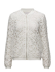 Tatiana lace jacket - CHALK