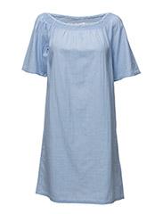 Gerlis dress - DUSTY SKY