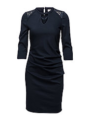 Milly India dress - MIDNIGHT MARINE