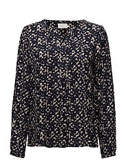 Joanna Blouse - MIDNIGHT MARINE