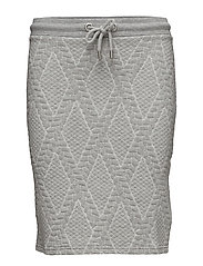 Gillis skirt - GREY MELANGE